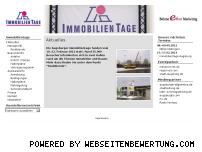 Ranking Webseite immobilientage-augsburg.de