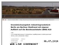 Informationen zur Webseite industriegrundstuecke-berlin.de