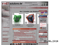 Ranking Webseite inetsolutions.de