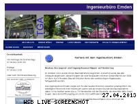 Ranking Webseite ingenieurbuero-emden.de