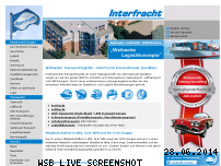Informationen zur Webseite interfracht.de