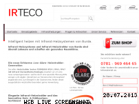 Ranking Webseite irteco.de