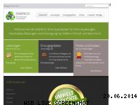 Informationen zur Webseite isaenco.de