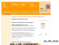 Ranking Webseite ivh-online.de