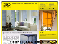 Ranking Webseite jalousie-rollo.de