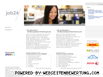 Ranking Webseite job24.de