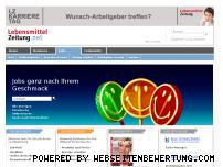 Ranking Webseite jobs.lebensmittelzeitung.net