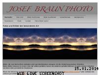 Informationen zur Webseite josef-braun-photo.com