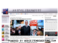 Ranking Webseite journal-frankfurt.de