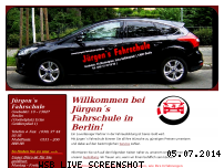 Informationen zur Webseite juergens-fahrschule-berlin.de