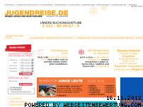 Ranking Webseite jugendreise.de