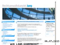 Ranking Webseite jung-rechtsanwalt.de