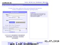 Informationen zur Webseite justbooks.de