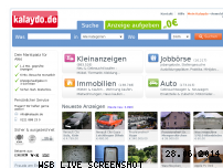 Informationen zur Webseite kalaydo.de