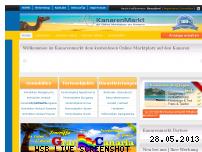 Informationen zur Webseite kanarenmarkt.com