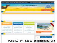 Informationen zur Webseite kanarenmarkt.de