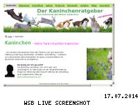 Informationen zur Webseite kaninchenwiese.de
