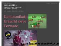Ranking Webseite karlanders.de