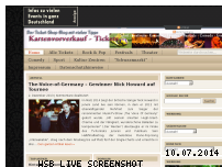 Informationen zur Webseite kartenvorverkauf-tickets.de