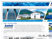 Ranking Webseite katek.de