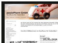 Ranking Webseite kaufhaus-fuer-diabetiker.de