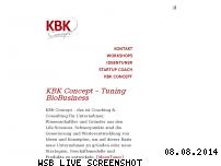 Informationen zur Webseite kbk-concept.de