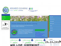 Ranking Webseite keilholz-cleaning.de