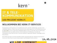 Informationen zur Webseite kern-it-services.de
