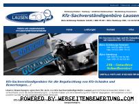 Ranking Webseite kfz-gutachter-lausen.de
