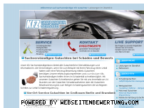 Ranking Webseite kfz-gutachter-service.de