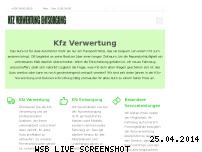 Ranking Webseite kfz-verwertung-entsorgung.de
