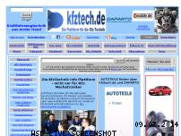 Ranking Webseite kfztech.de