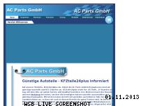 Ranking Webseite kfzteile24plus.de