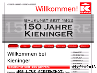 Ranking Webseite kieninger.at