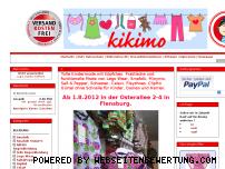 Ranking Webseite kikimo.de