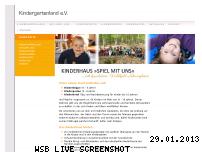 Ranking Webseite kindergartenland.de