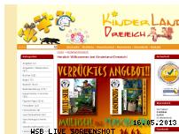 Ranking Webseite kinderland-dreieich.de