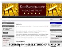 Ranking Webseite kinebarren-shop.de