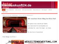 Informationen zur Webseite kinoauskunft24.de