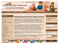 Ranking Webseite kirschner-versand.de