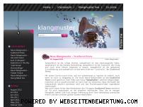 Ranking Webseite klangmuster.de