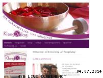 Ranking Webseite klangschalen-gong-shop.de