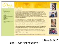 Ranking Webseite klee-peine.de