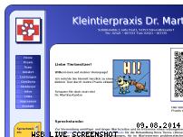 Ranking Webseite kleintierpraxis-kuntze.de