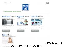Ranking Webseite klimashop.de