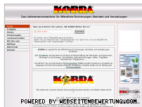 Ranking Webseite kobra-verlag.de