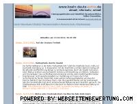 Ranking Webseite koeln-deutz-extra.de