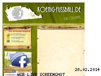 Ranking Webseite koenig-fussball.de