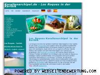 Ranking Webseite korallenarchipel.de