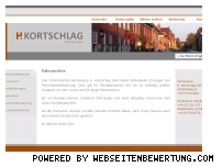 Informationen zur Webseite kortschlag.de